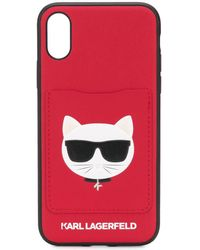 Karl Lagerfeld - Choupette Iphone X/xs ケース - Lyst