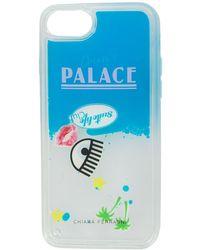 Chiara Ferragni Chiaras Palace Iphone 7-hoesje - Wit