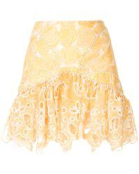 Acler Meredith Skirt . - Yellow