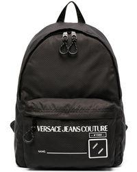 Versace Jeans Couture Рюкзак С Логотипом - Черный