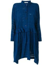 Peter Jensen - Smock Shirt Dress - Lyst