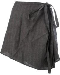Y. Project - Tie-waist Asymmetric Skirt - Lyst