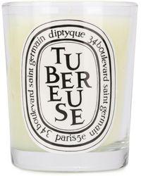 Diptyque Bougie parfumée Tubereuse - Blanc