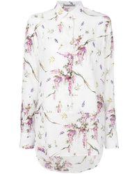 Ermanno Scervino - Floral Print Shirt - Lyst