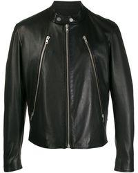 Maison Margiela ライダースジャケット - ブラック