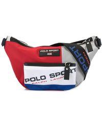 Ralph Lauren P-wing Logo Print Belt Bag - Multicolor