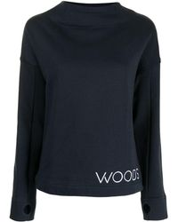 Viktoria & Woods Sweat à logo imprimé - Bleu