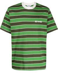Sunnei - ストライプ Tシャツ - Lyst
