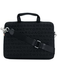 "Marc Jacobs - Logo Embossed 13"" Computer Bag - Lyst"