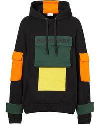 Burberry ロゴ カラーブロック パーカー - マルチカラー
