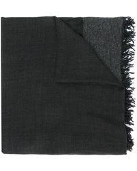 Faliero Sarti - Frayed Hem Square Scarf - Lyst