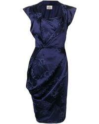 Vivienne Westwood ノースリーブ シフトドレス - ブルー