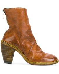 Guidi Zipped Boots - Bruin