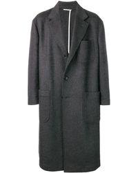 Thom Browne - オーバーサイズ ポケット サックオーバーコート - Lyst
