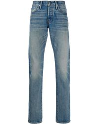 Tom Ford ストレートジーンズ - ブルー