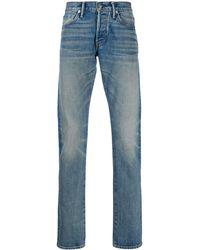 Tom Ford Jeans Met Vervaagd-effect - Blauw
