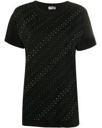 Liu Jo - ラインストーン Tシャツ - Lyst