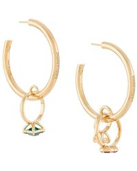 DSquared² Ring Hoop Earrings - Multicolor