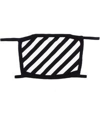 Off-White c/o Virgil Abloh Masque de visage imprimé - Noir