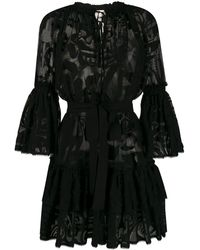 Emilio Pucci レースドレス - ブラック