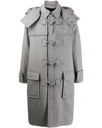 Valentino Duffle-coat à capuche - Gris