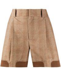 Chloé Checked Shorts - Multicolour