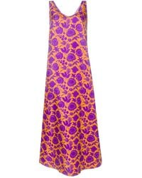 La DoubleJ Платье Easy Peasy - Пурпурный