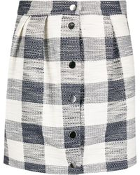 Roseanna Elio Tradition Plaid-jacquard Skirt - Multicolour