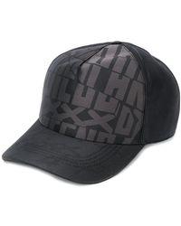 Ermenegildo Zegna Letter printed baseball cap - Nero