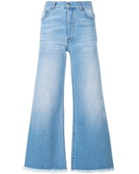 Each x Other - Flared Cropped Jeans - Lyst