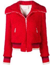 Marco De Vincenzo - Furry Zipped Jacket - Lyst