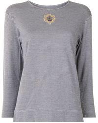 Dior T-shirt Sports à motif pied-de-poule pre-owned - Noir
