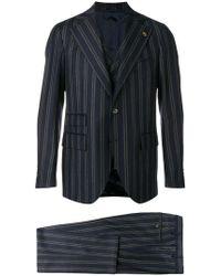 Gabriele Pasini - Striped Two Piece Suit - Lyst