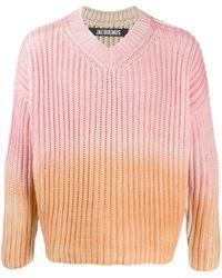 Jacquemus グラデーション セーター - ピンク