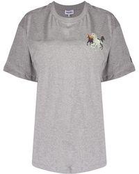 KENZO - ホースプリント Tシャツ - Lyst