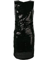 MSGM - スパンコール ノースリーブ ドレス - Lyst