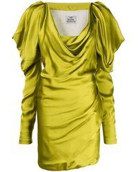 Vivienne Westwood Платье Мини Virginia - Желтый