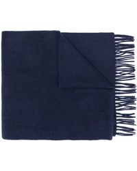 Tommy Hilfiger Gebreide Sjaal - Blauw