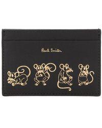 Paul Smith Year Of The Rat カードケース - ブラック