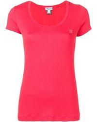 Blumarine スクープネック Tシャツ - マルチカラー