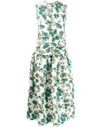 Victoria, Victoria Beckham - シャーリング ドレス - Lyst