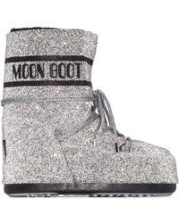 Moon Boot Swarovski-embellished S - Metallic