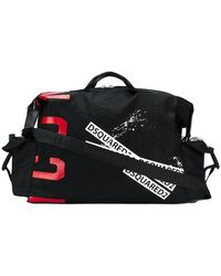 DSquared² Icon Holdall - Black