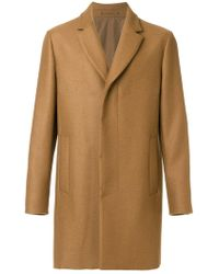 Berluti - Single Breasted Coat - Lyst