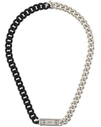 Alexander McQueen - Identity Curb Chain Necklace - Lyst