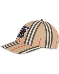 Burberry Cappello da baseball Icon - Multicolore