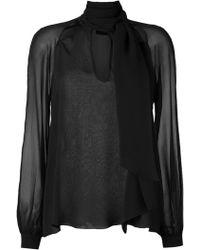 Giuliana Romanno - - Silk Shirt - Women - Silk - 40 - Lyst