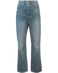 Eve Denim High Waisted Jeans - Blue