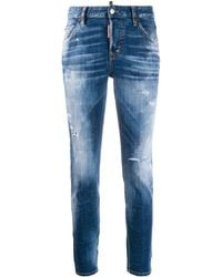DSquared² Skinny Jeans - Blauw
