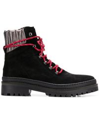Tommy Hilfiger - Lace-up Hiking Boots - Lyst